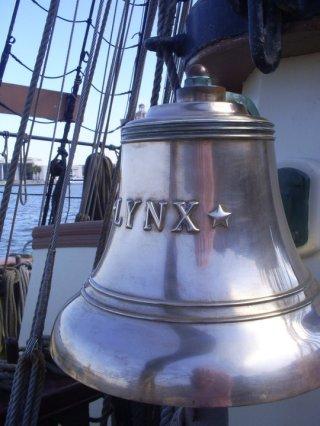 tall ship lynx bell